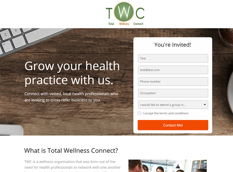landingpagedesign_totalwellnessconnect